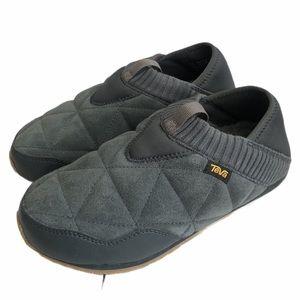 Teva Ember Moc Wool Shoes Dark